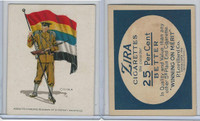 T105 Zira Cigarettes, Standard Bearers, 1910, China, Flag