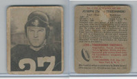 1948 Bowman Football, #1 Joe Tereshinski RC, Redskins