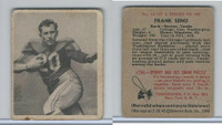 1948 Bowman Football, #14 Frank Seno, Boston Yanks