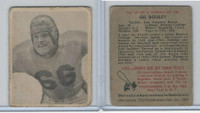 1948 Bowman Football, #15 Gil Bouley SP, Rams