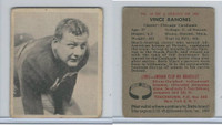 1948 Bowman Football, #18 Vince Banonis SP, Chicago Cardinals