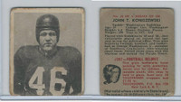 1948 Bowman Football, #24 John Koniszewski SP, Redskins