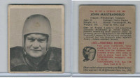 1948 Bowman Football, #32 John Mastrangelo, Steelers
