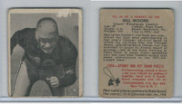 1948 Bowman Football, #68 Bill Moore, Steelers