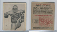 1948 Bowman Football, #89 Herbert Banta, Los Angeles Rams