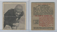 1948 Bowman Football, #90 Bill Garnaas SP, Steelers