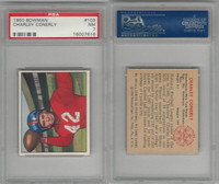 1950 Bowman Football, #103 Charlie Conerly, New York Giants, PSA 7 NM