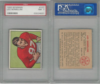 1950 Bowman Football, #107 Leo Nomellini HOF, 49ers, PSA 7 NM