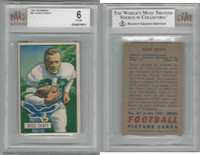 1951 Bowman Football, #47 Russ Craft, Eagles, BVG 6 EXMT