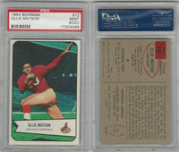1954 Bowman Football, #12 Ollie Matson HOF, Cardinals, PSA 9 OC Mint