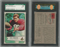 1954 Bowman Football, #48 Don Stonesifer, Cardinals, SGC 92 NMMT+
