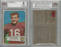 1954 Bowman Football, #55 Frank Gifford HOF, Giants, BVG 8 NMMT