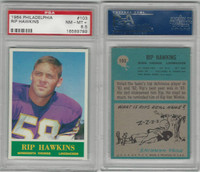 1964 Philadelphia Football, #103 Rip Hawkins, Vikings, PSA 8.5 NMMT+