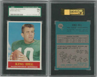 1964 Philadelphia Football, #134 King Hill, Eagles, SGC 96 Mint