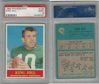 1964 Philadelphia Football, #134 King Hill, Eagles, PSA 9 Mint