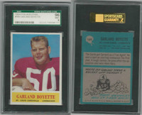 1964 Philadelphia Football, #169 Garland Boyette, Cardinals, SGC 96 Mint