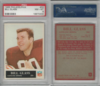 1965 Philadelphia Football, #33 Bill Glass, Browns, PSA 8 NMMT