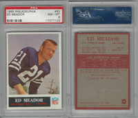 1965 Philadelphia Football, #92 Ed Meador, Eagles, PSA 8 NMMT