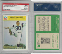 1966 Philadelphia Football, #95 Bruce Gossett, Rams, PSA 9 OC Mint
