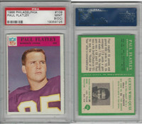 1966 Philadelphia Football, #109 Paul Flatley, Vikings, PSA 9 OC Mint