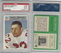 1966 Philadelphia Football, #164 Dale Meinert, Cardinals, PSA 9 OC Mint