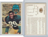 1970 Kelloggs Football, #15 Dave Robinson, Green Bay Packers