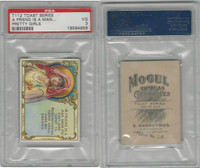 T112 Mogul Cigarettes, Toast Series, 1909, A Friend Is A Man, PSA 3 VG