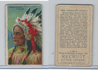 T113 Recruit, Types of Nations, 1910, American Indian