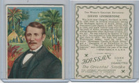 T118 Hassan, World's Greatest Explorers, 1910, David Livingstone