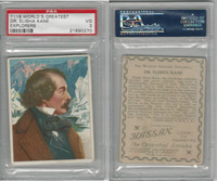 T118 Hassan, World's Greatest Explorers, 1910, Dr. Elisha Kane, PSA 3 VG