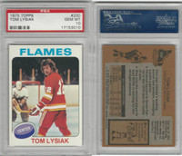 1975 Topps Hockey, #230 Tom Lysiak, Flames, PSA 10 Gem