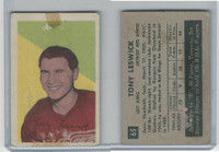 1952 Parkhurst Hockey, #65 Tony Leswick, Detroit Red Wings