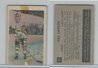 1952 Parkhurst Hockey, #71 Hal Laycoe, Boston Bruins