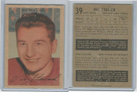 1953 Parkhurst Hockey, #39 Vic Stasiuk, Detroit Red Wings