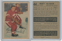 1953 Parkhurst Hockey, #44 Marty Pavelich, Detroit Red Wings