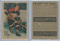 1953 Parkhurst Hockey, #79 Rags Raglan, Chicago Black Hawks