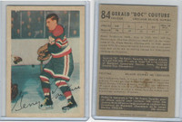 1953 Parkhurst Hockey, #84 Gerry Couture, Chicago Black Hawks