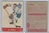 1955 Parkhurst Hockey, #6 Joe Klukay, Toronto Maple Leafs