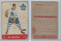 1955 Parkhurst Hockey, #8 Jim Morrison, Toronto Maple Leafs