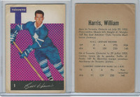 1962 Parkhurst Hockey, #1 Billy Harris, Toronto Maple Leafs