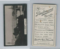 T119-1 Piedmont Cigarettes, World Scenes, #220 Germany, Frankfort on Main
