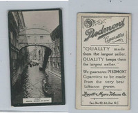 T119-1 Piedmont Cigarettes, World Scenes, #260 Italy, Venice, Bridge of Sighs