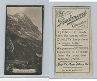 T119-1 Piedmont Cigarettes, World Scenes, #333 Switzerland, Grindelwald, Eiger
