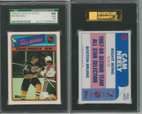 1988 Topps Hockey Stickers, #9 Cam Neely, Bruins, SGC 98 Gem