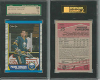1989 O-Pee-Chee Hockey, #25 Pierre Turgeon, Sabres, SGC 98 Gem