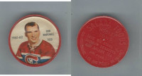 1961 Shirriff Coins Hockey, #103 Don Marshall, Montreal Canadiens