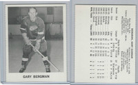 1965 Coca Cola Hockey, Gary Bergman, Detroit Red Wings