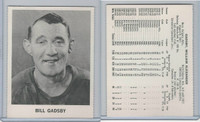 1965 Coca Cola Hockey, Bill Gadsby, Detroit Red Wings