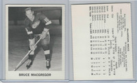 1965 Coca Cola Hockey, Bruce MacGregor, Detroit Red Wings
