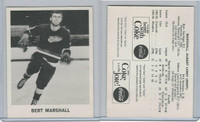 1965 Coca Cola Hockey, Bert Marshall, Detroit Red Wings